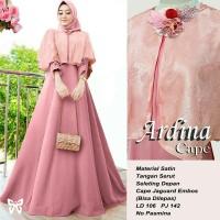 Gamis Maxi / Baju Dress Wanita Muslim Ardina Cape Busui Good Quality
