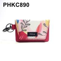 Dompet STNK Motor Mobil Kartu SIM eToll - Gantungan Kunci Kain PHKC890