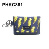 Dompet STNK Motor Mobil Kartu SIM eToll - Gantungan Kunci Kain PHKC881