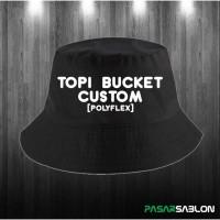 Topi Custom Bucket Hat
