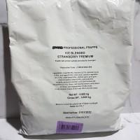 Toffin Ice Blender Frappe Bubuk Strawberry 800 GR Best Seller!
