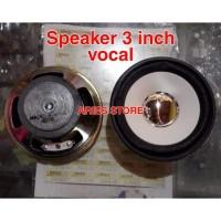 speaker 3 inch vocal
