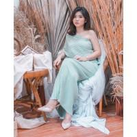 Athena Multiways Long Dress in Mint