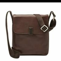 fossil tas pria man Sling bag original black and brown