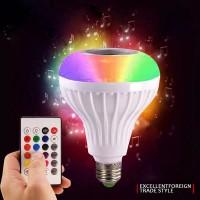 Lampu Music RGB Speaker Bluetooth