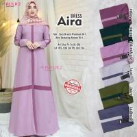baju aira maxy dress muslim wanita simple nyaman terbaru modis