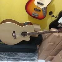 Gitar akustik elektrik lcd tuner new
