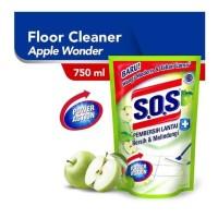 SOS pembersih lantai apple wonder 750ml