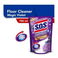 SOS pembersih lantai magic violet 750ml