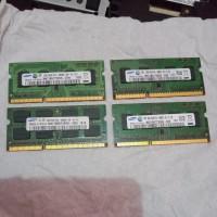 Ram laptop ddr3 2GB pc3 10600s 1.5volt 1333mhz Samsung