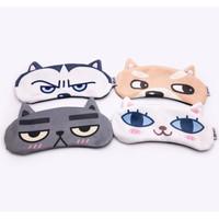 Premium Korea Sleepmask Gel Penutup mata tidur Sleep Eye Mask Travel