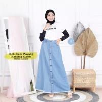 Rok panjang jeans wanita / Rok muslim