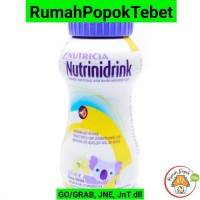 Gograb Only. Susu Nutricia Nutrinidrink Nutrini Drink Cair Vanilla
