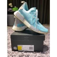 Sepatu Adidas NMD R1 PK light blue Original Bekas kondisi 97%