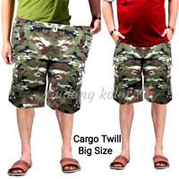Celana cargo Celana pendek pria loreng Army BIG SIZE