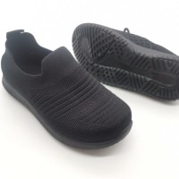 Sepatu Sport Anak Slip On Elastis Model Terbaru Original M&M Kids C01