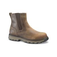 [PO] Sepatu Caterpillar Pelton ST Dark Beige Original