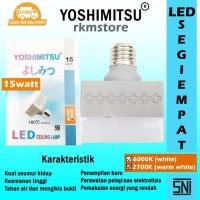New Item! LAMPU LED CEILING LAMP PERSEGI 15WATT MEREK YOSHIMITSU - Putih