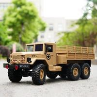 WPL B-16 B16 RTR 1/16 2.4G 6WD Military Truck Crawler Off Road RC Car