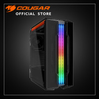 COUGAR PC CASE GEMINI T | RGB GLASS WING MID TOWER