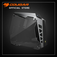 COUGAR PC CASE CONQUER ESSENCE | MINI TOWER | TEMPERED GLASS