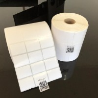 """Label Sticker Barcode 33x25mm Semicoated(3 Lines isi 5000Pcs)Core 1"""""""