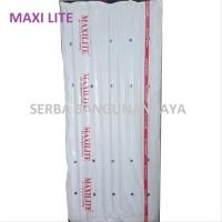 MAXILITE PVC ROOF 210 X 80 cm ASBES FIBER PVC ATAP sparepart
