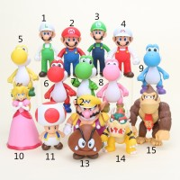Terlaris In Stock Super Mario Bros PVC Koopa Troopa Action Figures