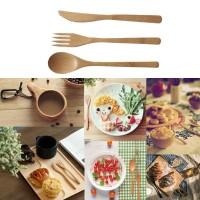 Terlaris Set Peralatan Makan Sendok, Garpu dan Pisau Makan Portabel