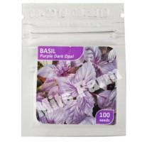 Basil Purple Dark Opal Benih Bibit Import