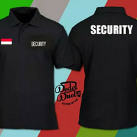 Baju Kerah High Class Kaos Polo Shirt Security Kaos Kerah Security