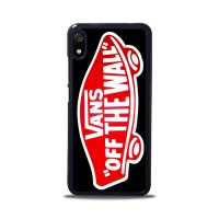 Hardcase Redmi 7A Logo Vans Off The Wall Shoes Red A1330