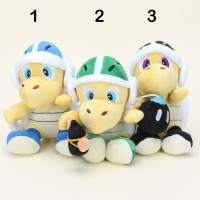 Stok Terbatas 18cm 7inches Super Mario Bros Plush Dolls Koopa Troopa