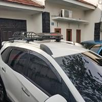 Paket Roof Top Rack Mobil Lokal plus Rhino Cross Bar - Buzz Rack Lokal