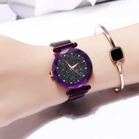 Cantik BIG !!!Quu Jam Tangan Watches dengan Gesper Magnet Anti Air