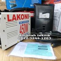 Mesin las lakoni 450 watt 120 A baru fulset garansi resmi trafo las