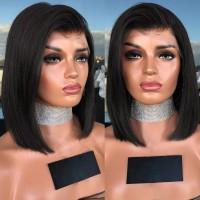 Terbaik Wig / Rambut Palsu Wanita Model Brazilian Tanpa Tali Warna