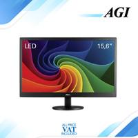 """Monitor LED AOC E1670 E1670SWU 16"""" 60Hz 1366x768 VGA"""