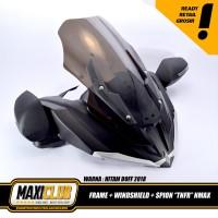 variasi NMAX bodykit frame topeng windshield spion lipat transforme
