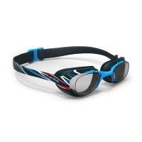 Nabaiji Kacamata Renang Xbase Print Mika Blue Decathlon - 2027952