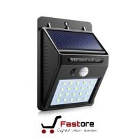Lampu Dinding Daya Sinar Matahatari Sensor Gerak dan Cahaya Waterproof