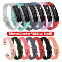 Strap Silicone For Fitbit Alta HR Smart Wristband Watch