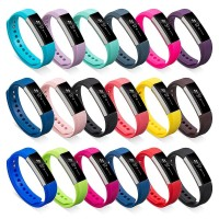 Strap Colorful Silicone Replacement Wrist Band Size S FitBit Alta HR