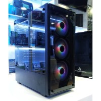 Casing PC Gaming Paradox Gaming Masamune (include 3 Fan Rainbow RGB)