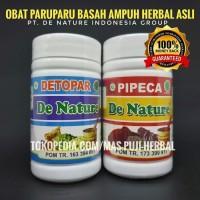 Obat Paru Paru Basah AMPUH Herbal Asli Detopar Pipeca PT. De Nature