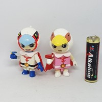 figure anime gatchaman chibi set