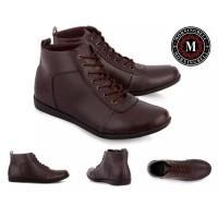 Sepatu pria boot casual Morningbell brodo