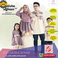 BAJU SET COUPLE MUSLIM FAMILY MAXI DRESS GAMIS CASUAL ELEGAN FAMILY
