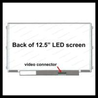 LED LCD Layar Laptop Lenovo X230S X250 K2440 K2450 12.5 Inch 30pin