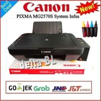 Printer canon infus box exclusive MG2570s All-In-One